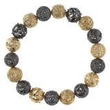 Tapestry of Beads Stretch Bracelet