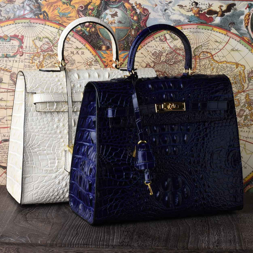 The Monaco Croco Bag