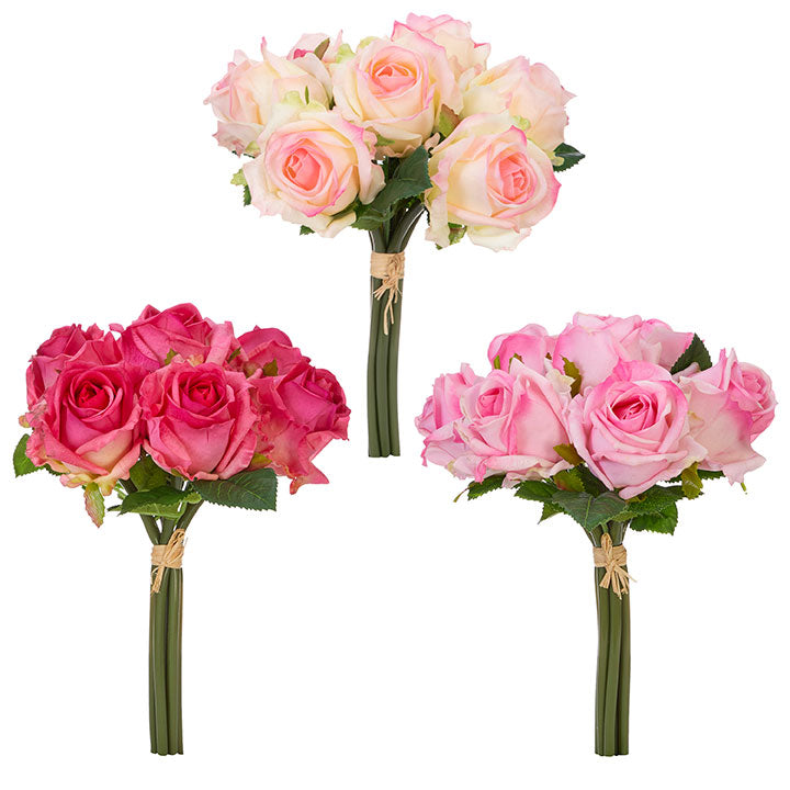 Real Touch Rose Bouquets