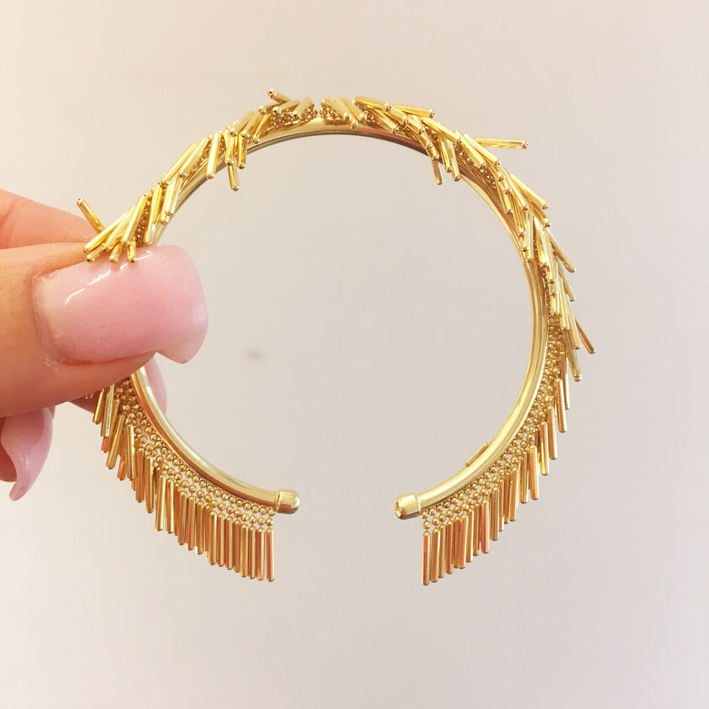Living on the Fringe Bracelet