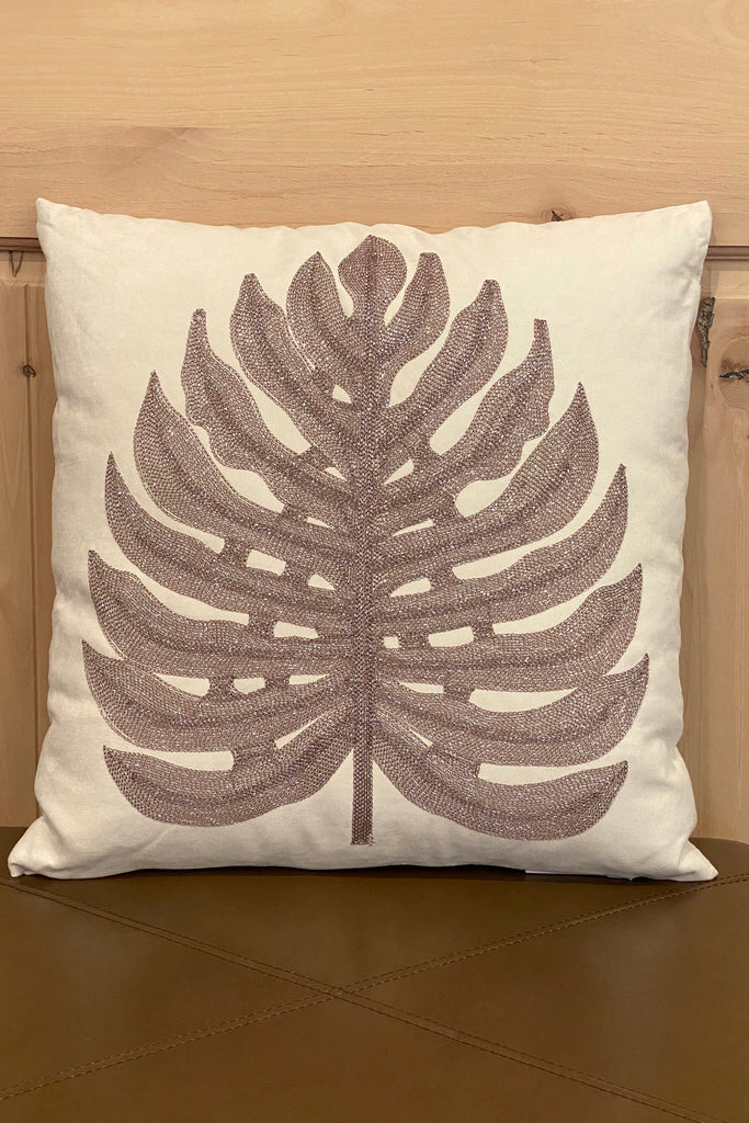 Shimmering Embroidered Pillows