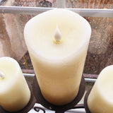 3D Flameless Candles (Set of 2)