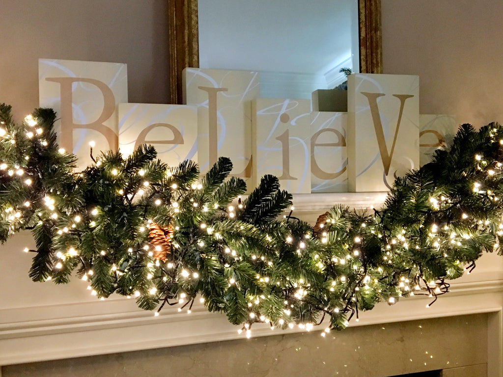 Believe and Love Message Blocks