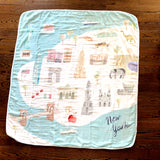 Cities of the World Muslin Quilt