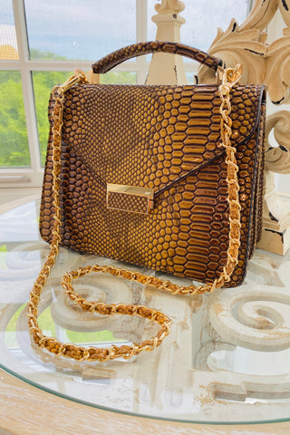 Large Pyramid Studded Tote