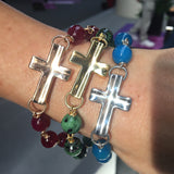 The Calming Cross with Gems