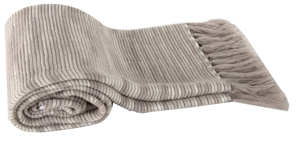 Cozy Heathered Throw
