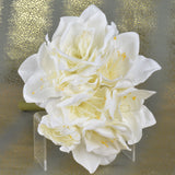 Set of 2 White Amaryllis Flowers