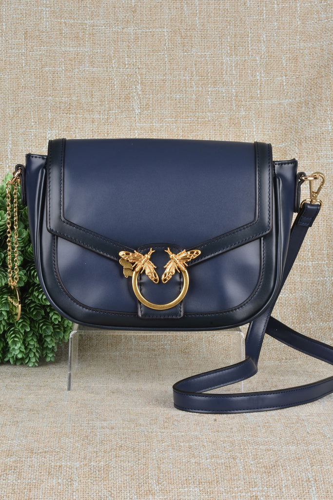 Couture Inspired Bee Hardware Rounded Bag