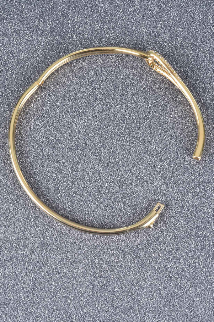 Italian Couture Inspired Loop Bangle