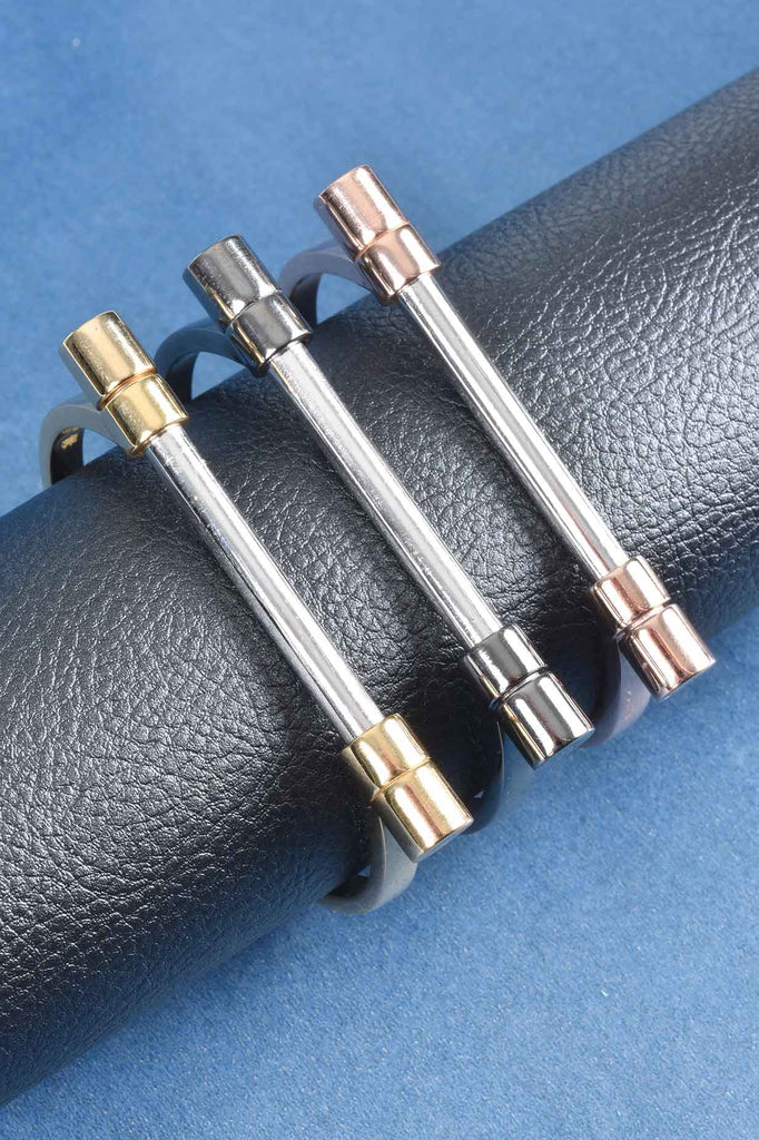 New Magnetic Close Bar Bracelet