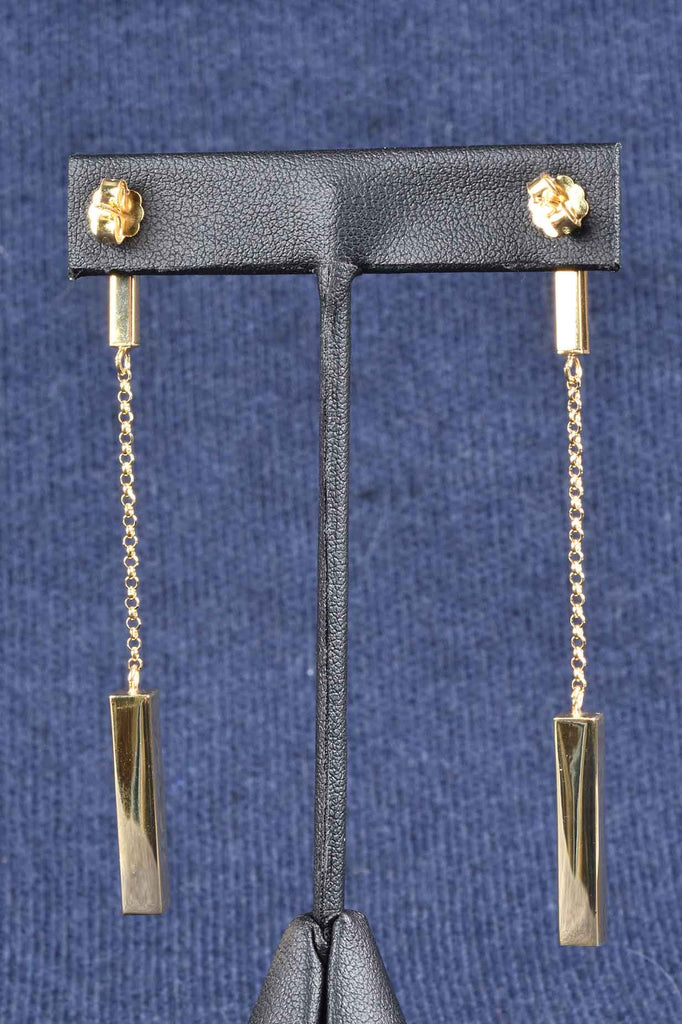 Italian Luxury Double Bar Earrings