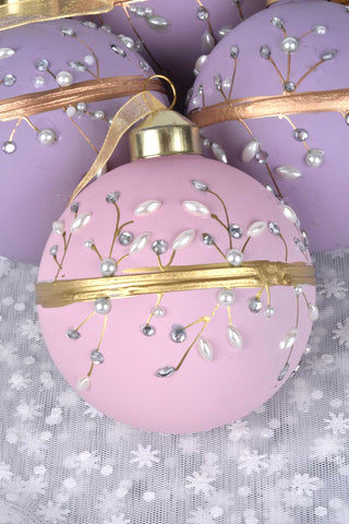 Glass Bell Ornaments