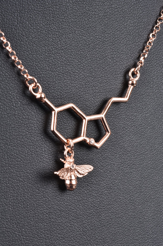 Italian Bee and Hive Necklace