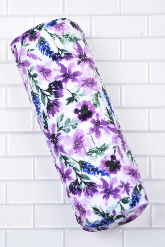 Lavender-Wisteria Neck or Knee Bolster Roll