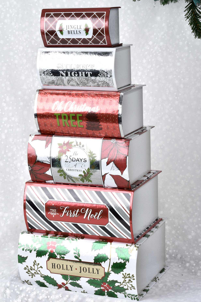 Set of 6 Holiday Boxes