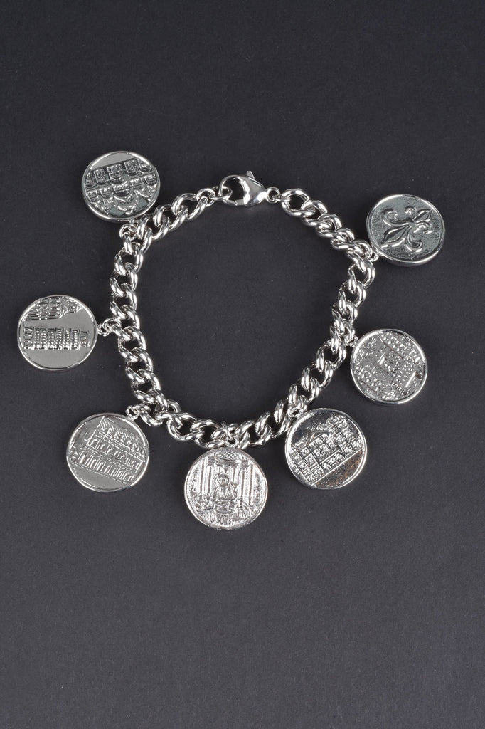 Cities of Italy Charm Bracelet