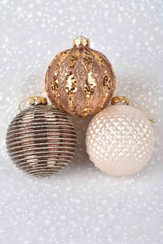 Fancy Gold Star Ornaments