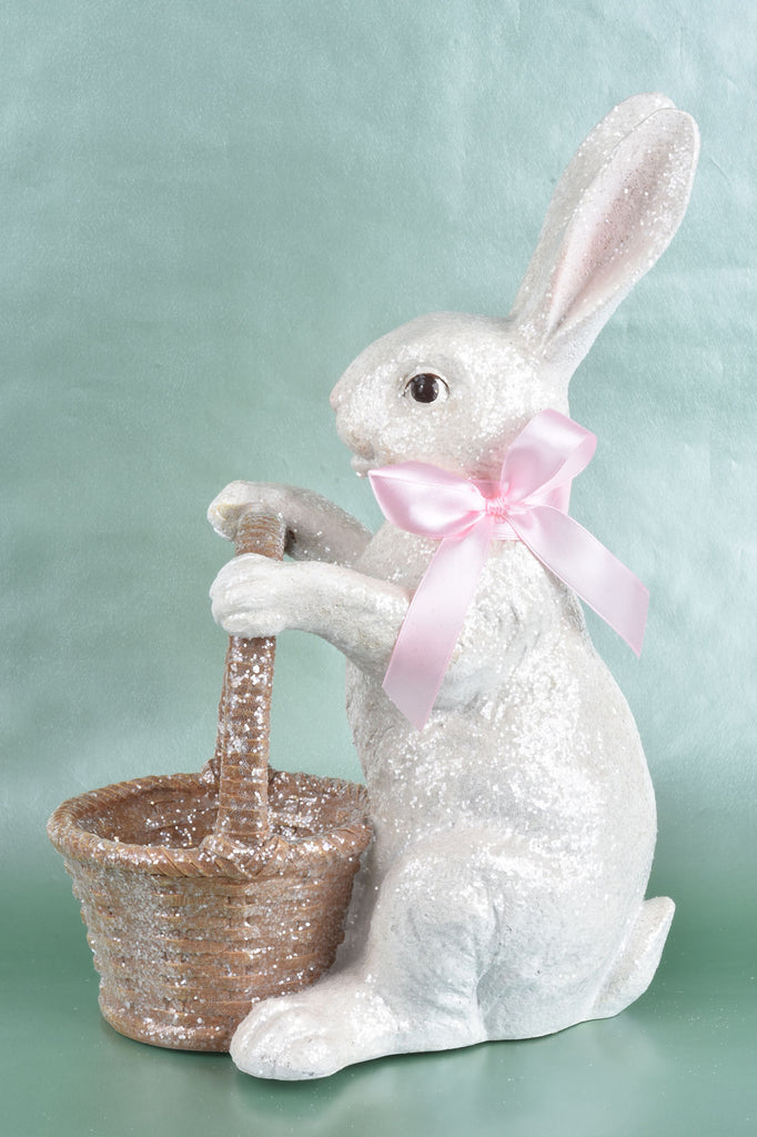 Sparkling Bunny with Basket
