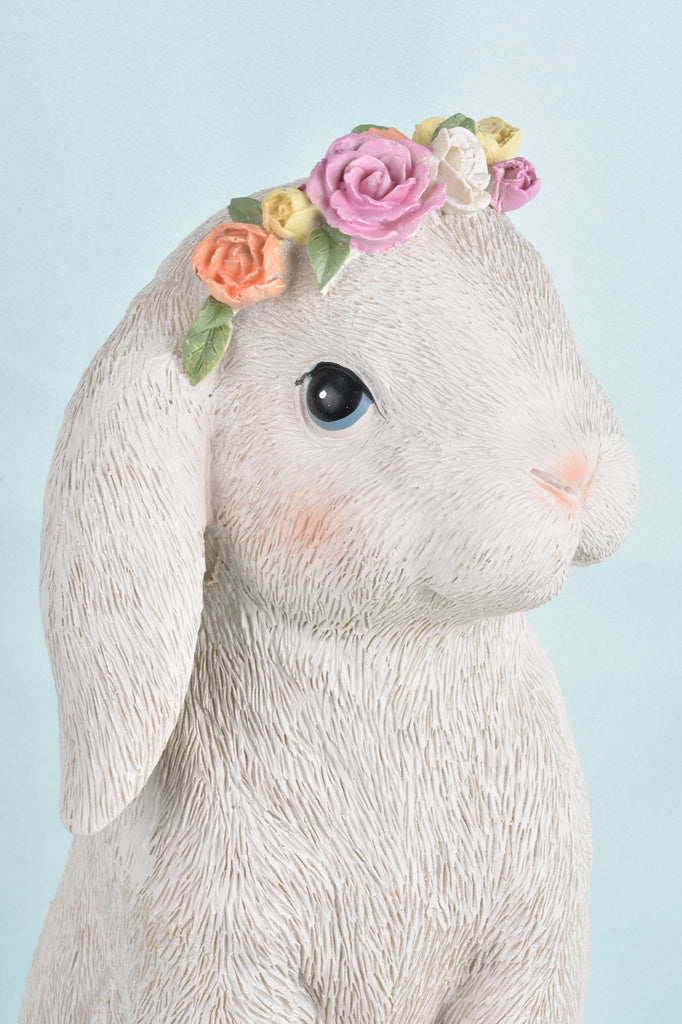 "12"" Bunny with Flower Crown"