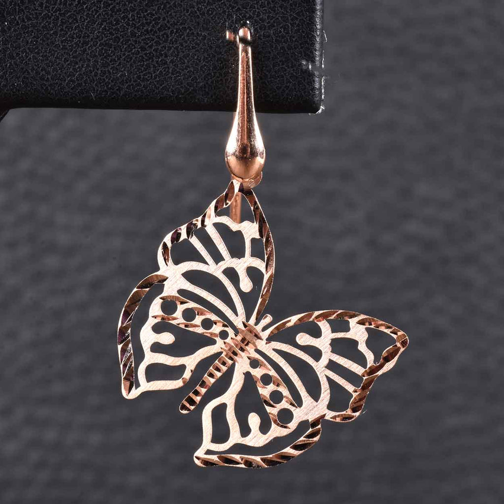 Italian Sparkling Butterfly Earrings