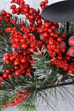 Pine and Berry Centerpiece