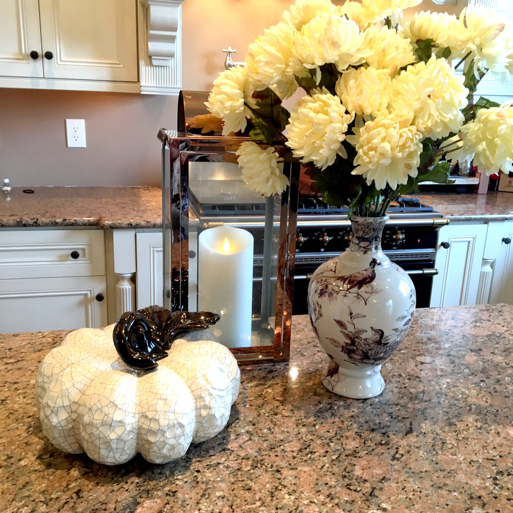 The Perfect Cinderella Ceramic Pumpkin