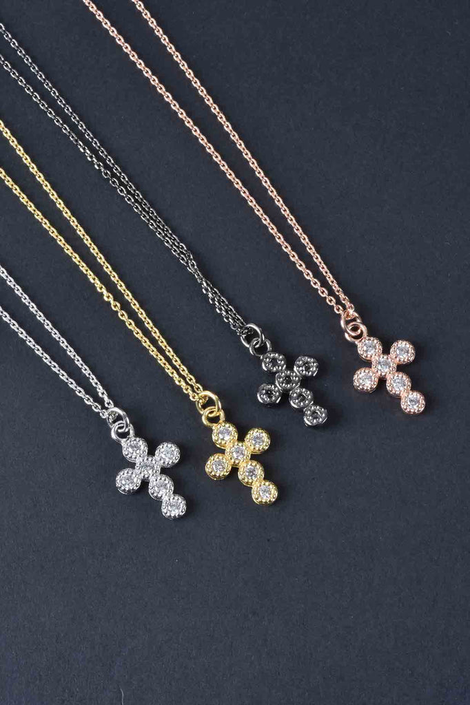 Italian Choice of Cross or Star of David Necklace