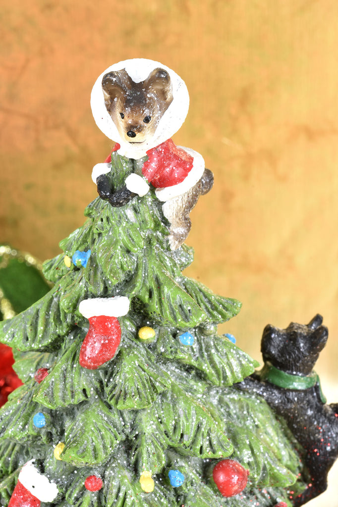 A Dog's Christmas Tree
