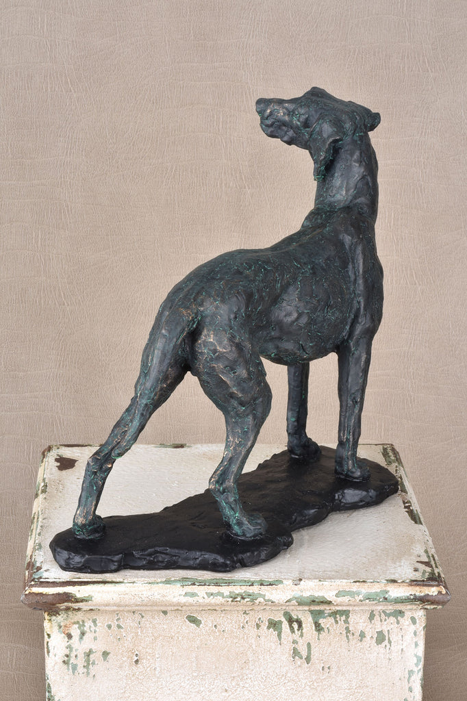 Standing Dog Statue