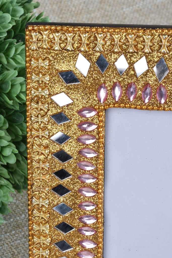Jeweled and Glittered Picture Frames