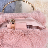 Super Chic Faux Fur Convertible Bag