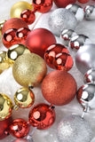 Set of 4 Shatterproof Christmas Ball Garlands