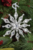 Gem Snowflake Ornaments