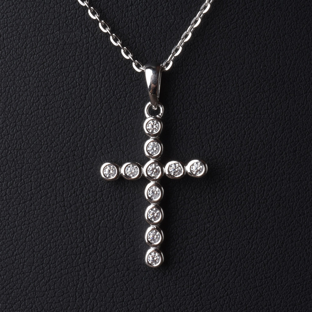 Sparkling Cross Necklace