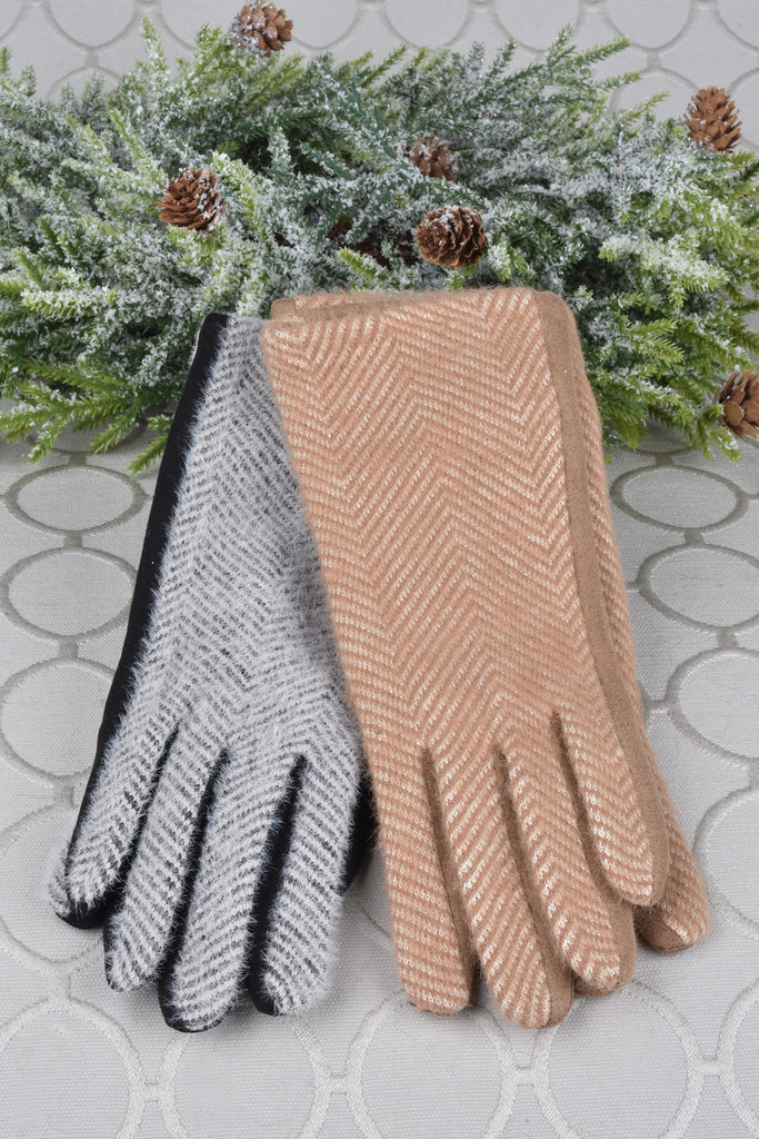 Super Soft Herringbone Tech Gloves