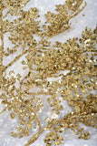 Gold Glitter Leaf Sprays
