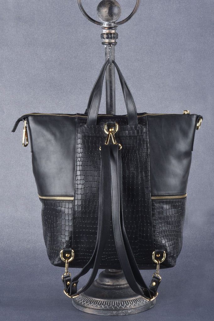 Custom Made Couture Level Italian Convertible Backpack