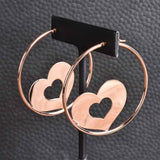 Bold Shape in Hoop Summer Earrings