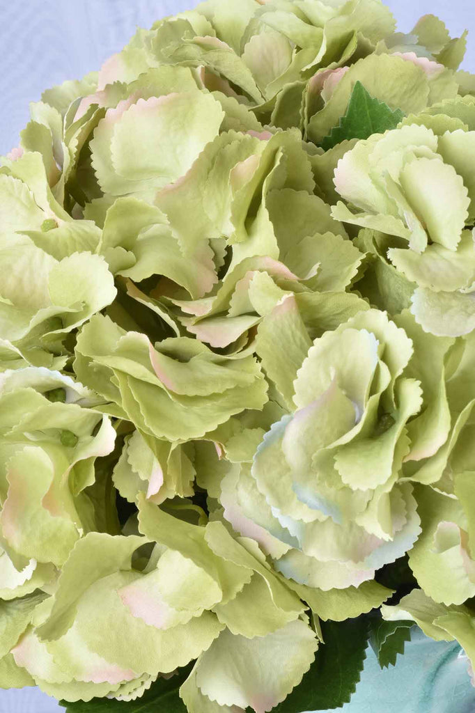 "Set of 4 - 26.5"" Green Hydrangea Stems"
