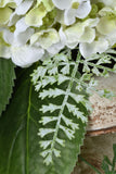 Signature Floral Collection: White Hydrangeas and Foliage Custom Bouquet