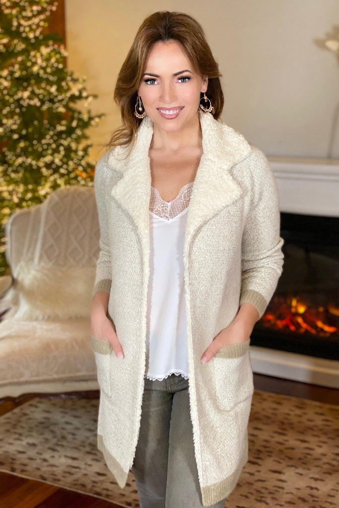 Soft Neutrals Cozy Coatigan