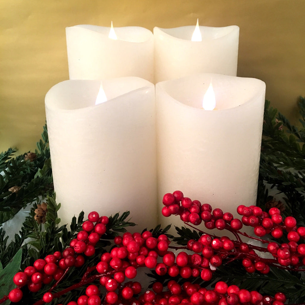 5.5'' or 7.5'' 3D Flameless Candles (Set of 2)