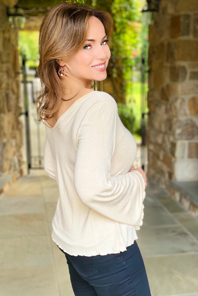 The Perfect, Must Have, Soft Classic Knit Top