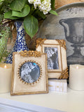 Antique Gold and Cream Picture Frames