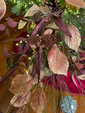Leaf and Pinecone Garland