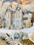 Snowy European Ivory Manor