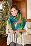Super Soft Color Block Scarf