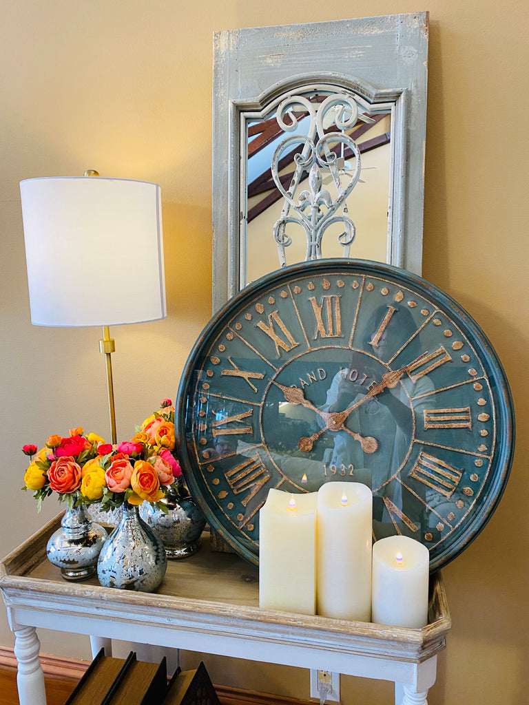 Grand Hotel Antique Style Clock