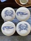 By the Sea 8 Piece Porcelain Plate Set